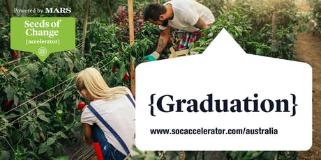 Seeds of Change Accelerator Graduation tickets
