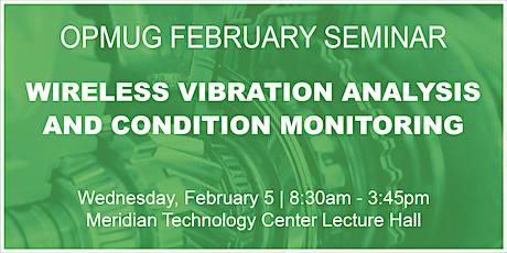 Wireless Vibration Analysis & Condition Monitoring Seminar tickets