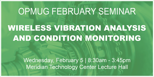 Wireless Vibration Analysis & Condition Monitoring Seminar