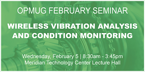 Wireless Vibration Analysis & Condition Monitoring Seminar
