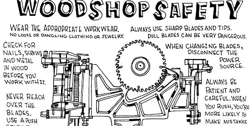 Wood Lab Safety 101, Members Only.