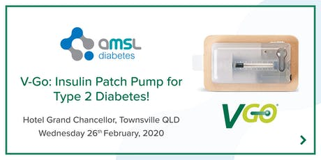 AMSL Diabetes presents the V-Go Insulin Patch Pump (Type 2 Diabetes) tickets