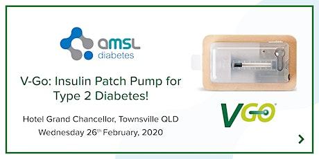 AMSL Diabetes presents the V-Go Insulin Patch Pump (Type 2 Diabetes) tickets
