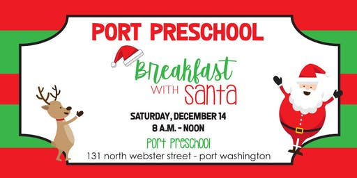 Port Preschool Breakfast with Santa