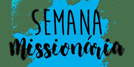 Semana Missionária 2020 tickets