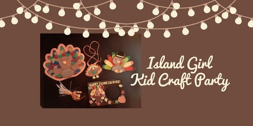 Island Girl Kids Craft Party