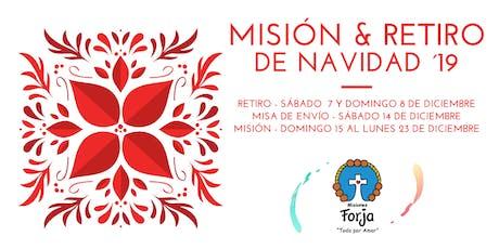 Misión y Retiro de Navidad ´19  boletos