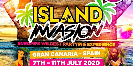ISLAND INVASION - Europe's Biggest Party Holiday Experience tickets