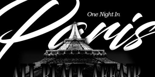 One Night In Paris All Black Affair
