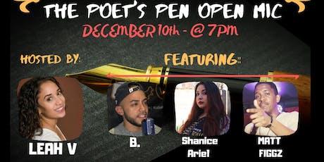 The Poets Pen Open Mic tickets
