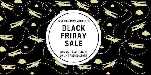 Black Friday/Cyber Monday Membership Sale