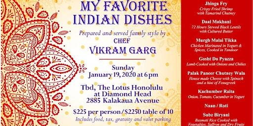 Chef Vikram Garg's Favorite Indian Dishes