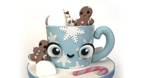 Cake Decorating - Hot Chocolate Mug Cake