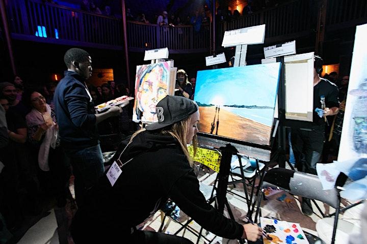 Art Battle Montréal - 13 Decembre, 2019 image