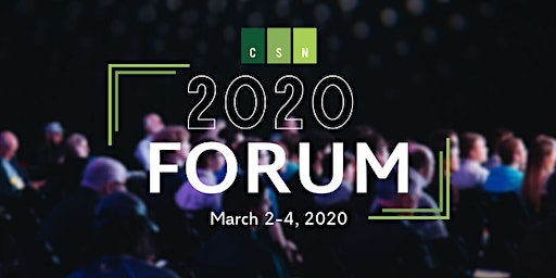 2020 CSN Forum | Louisville
