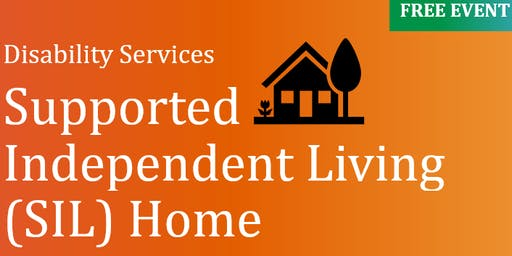 Supported Independent Living (SIL) for people with disability