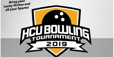 HCU Bowling Tournament 2019 tickets