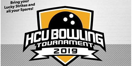 HCU Bowling Tournament 2019 tickets