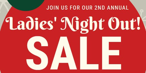 Ladies' Night Out! 20% Off Storewide Sale