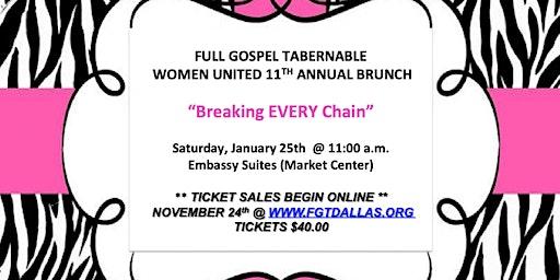 Full Gospel Tabernacle Women's Brunch 2020
