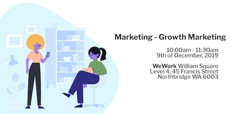 Marketing - Growth Marketing tickets