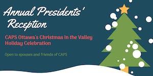 2019 Presidents' Holiday Reception