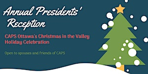 2019 Presidents' Holiday Reception