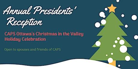 2019 Presidents' Holiday Reception tickets