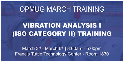 Vibration Analysis I (ISO Category II) Training