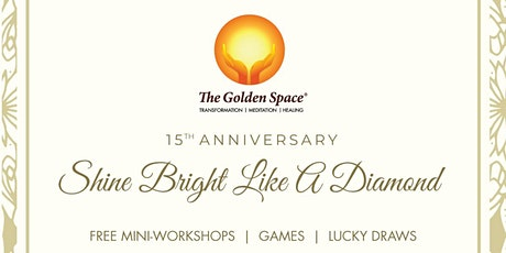 The Golden Space Crystal Anniversary tickets