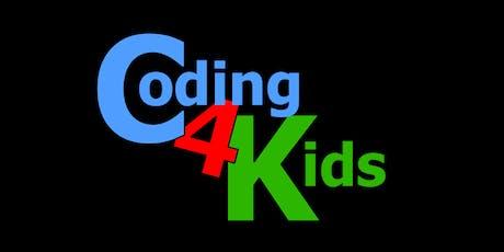"""Coding4Kids Arduino Workshop - Duck, Duck, """"Digital"""" Goose! tickets"""