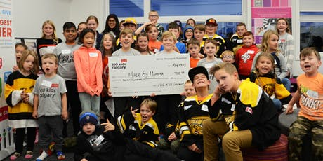 100 Kids Who Care Calgary Giving Event tickets