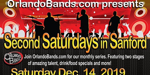 PLATE will be playing at Second Saturdays in Sanford