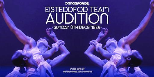 Eisteddfod team auditions