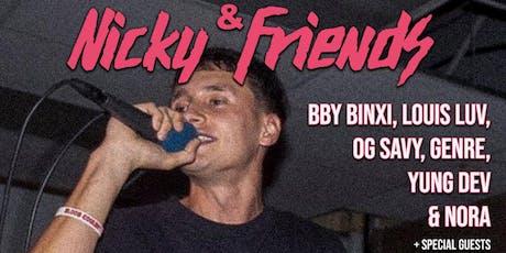 Nicky & Friends tickets