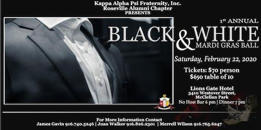 Roseville Alumni Chapter of Kappa Alpha Psi, Inc. Black & White Ball