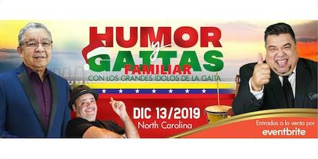 Humor y Gaitas 2019 - Neguito Borjas y El Colosal entradas