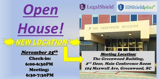 Legalshield & ID Protection Open House - The Greenwood Building