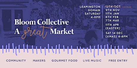 Bloom Collective Market tickets