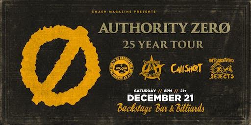 Authority Zero ~ 25 Year Tour