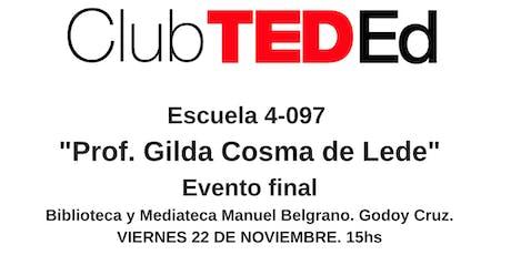 Club TEDEd Esc. 4-097  entradas