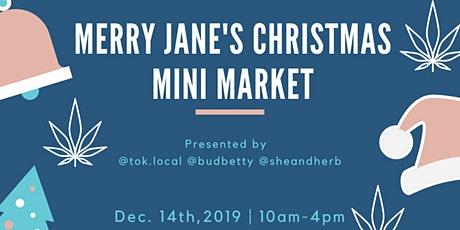 Merry Jane's Christmas Mini Market tickets