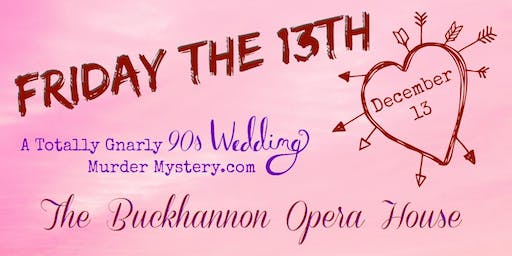 A Totally Gnarly 90's Wedding Murder Mystery.com