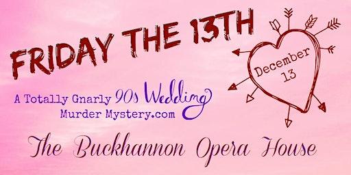 A Totally Gnarly 90's Wedding Murder Mystery.com