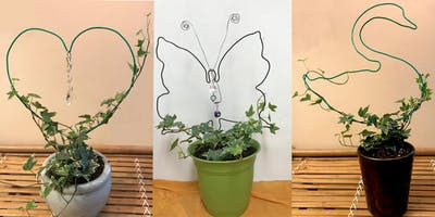 SIMPLE WIRE HOLIDAY TOPIARY FOR *****/CHILD