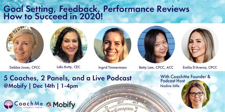 Goal Setting, Feedback, Performance Reviews – How to Succeed in 2020! tickets
