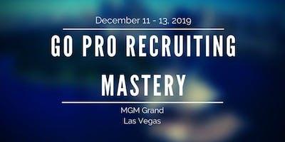 Go Pro Recruiting Mastery 2019