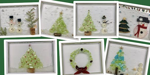 """Design your own sea glass masterpiece! Adult Open (18yrs+) """"Clearly Beautiful"""""""