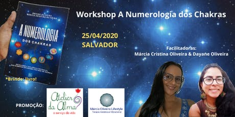 WORKSHOP A NUMEROLOGIA DOS CHAKRAS ingressos