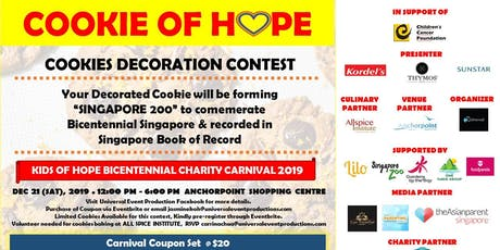COOKIE OF HOPE COOKIE DECORATION CONTEST 2019 tickets